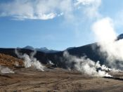 Del Tatio Geyser Guide of San Pedro de Atacama, CHILE