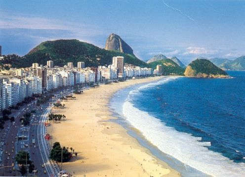 Copacabana Beach,