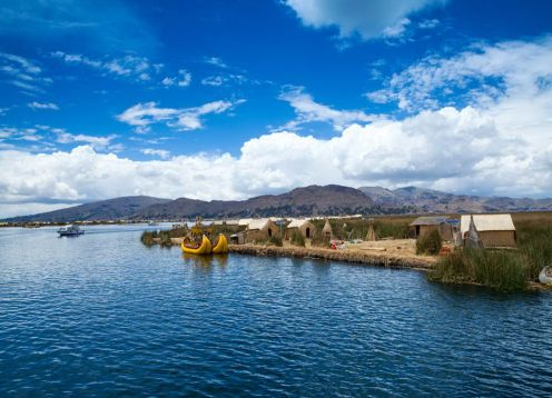 Titicaca lake,