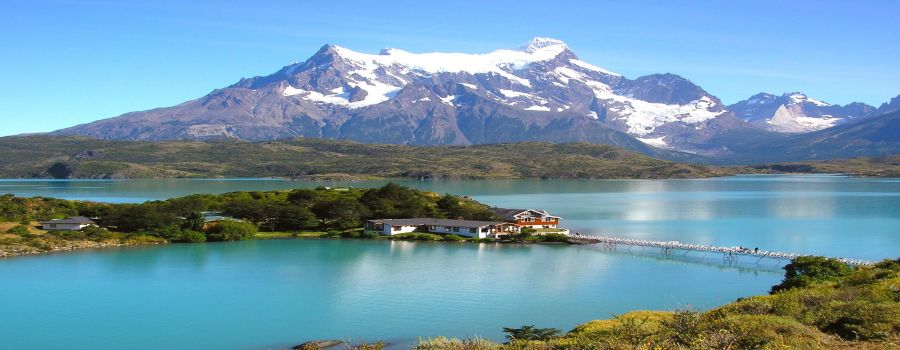 Lake Pehoé is a lake located within the Torres del Paine National Park.  Torres del Paine - CHILE