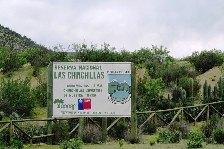 Las Chinchillas National Reserve Illapel, CHILE