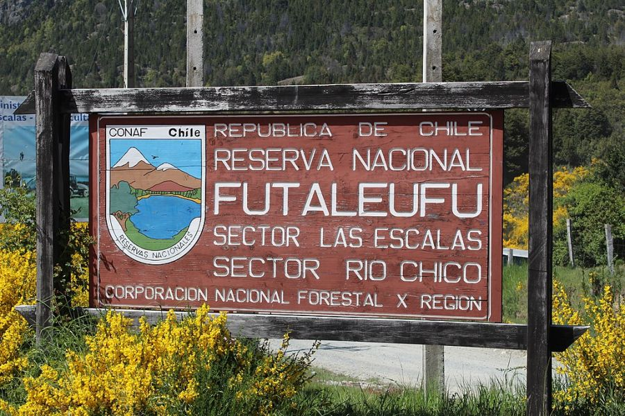 Futaleuf? National Reserve Futaleufu, CHILE