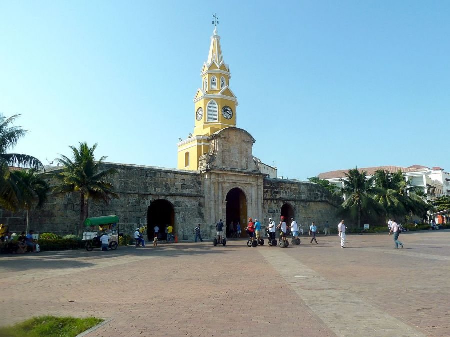 Torre del Reloj, Guide of Attractions of Cartagena de Indias. Colombia Cartagena de Indias, COLOMBIA