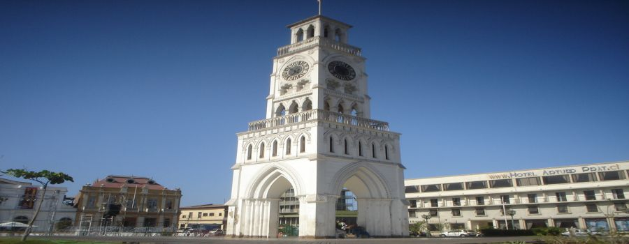 Iquique the Clock Tower