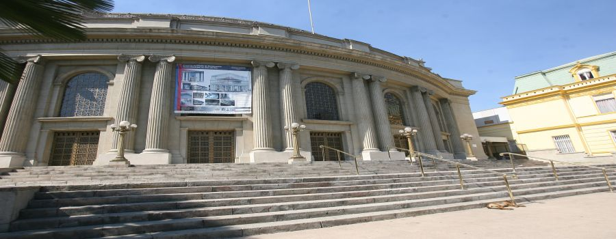 City of Valparaiso theater.  Valparaiso - CHILE