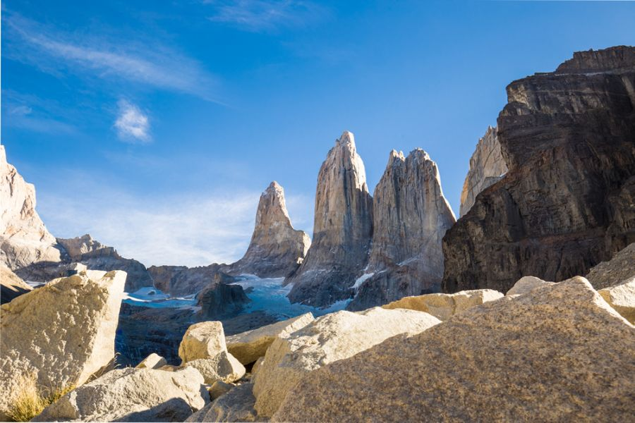 Torres del Paine National Park, Guide and information Puerto Natales, CHILE