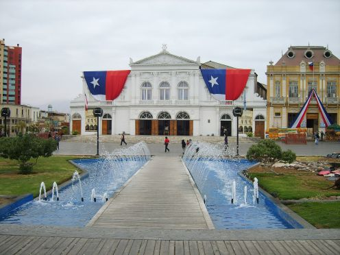 Municipal Theater of Iquique, Iquique