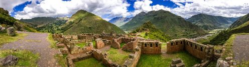 The citadel of Pisac,