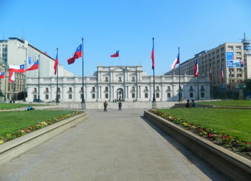 La Moneda Palace (Goverment palace), Santiago