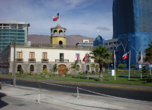Customs building of Iquique, Iquique
