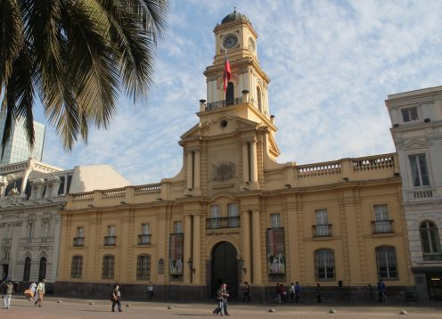 National Historical Museum from Santiago