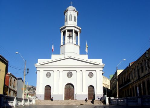 Church of La Matriz in Valparaiso