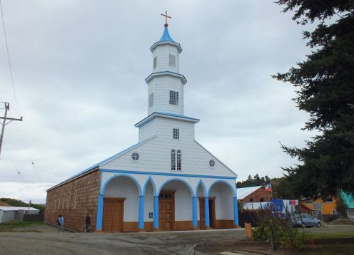 Ril�n Church, Chiloe