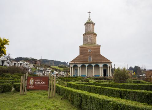 Nerc�n church in Chiloe