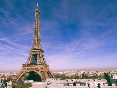 The Eiffel Tower,