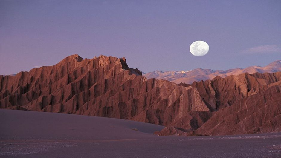 SANTIAGO AND ATACAMA IN PLANE, ,