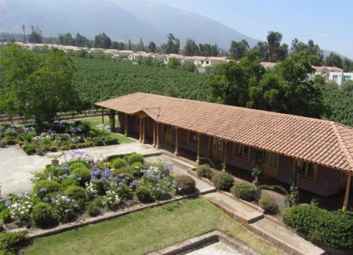 WINE ROUTE - MAIPO VALLEY IN CHILE