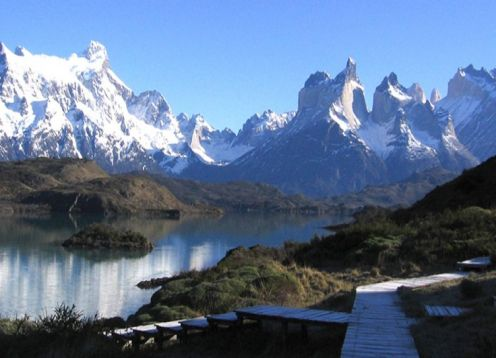 TORRES DEL PAINE AND SANTIAGO