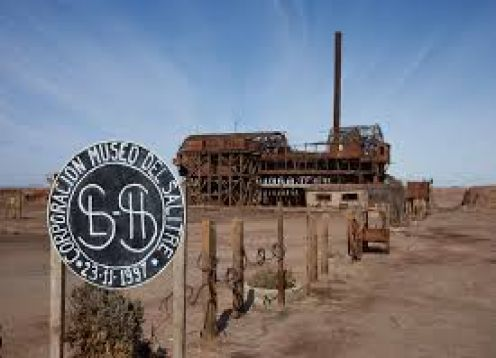 HUMBERSTONE AND SANTA LAURA SALTPETER MINES TOUR. , CHILE