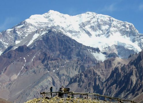Experience in Aconcagua hill