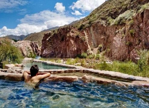 Spa day in Termas de Cacheuta with transfers from Mendoza. , ARGENTINA