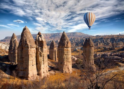 Full day Tour of Cappadocia with Kaymakli Underground City from Cappadocia. , TURQUIA