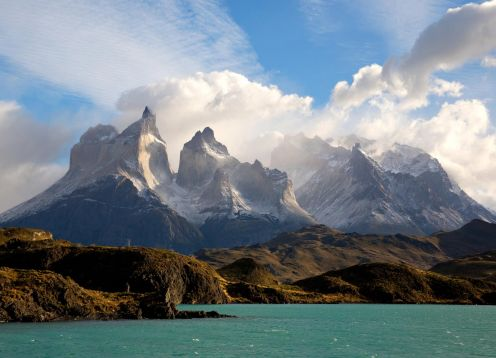 Full Day Tour To Torres Del Paine Park With Navigation To Gray Glacier, Puerto Natales