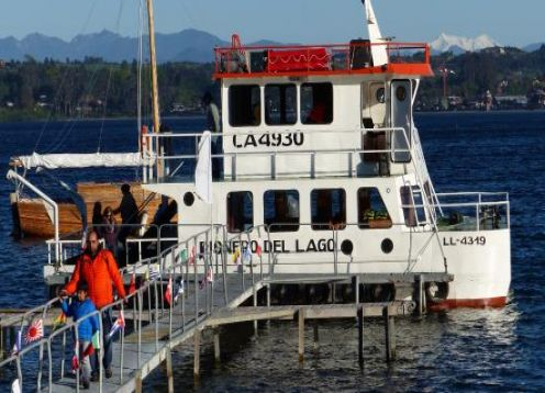 Walking City + Navigation Lake Llanquihue