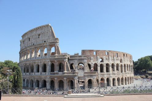 Ancient Rome, Colosseum, Forum And Palatine.,