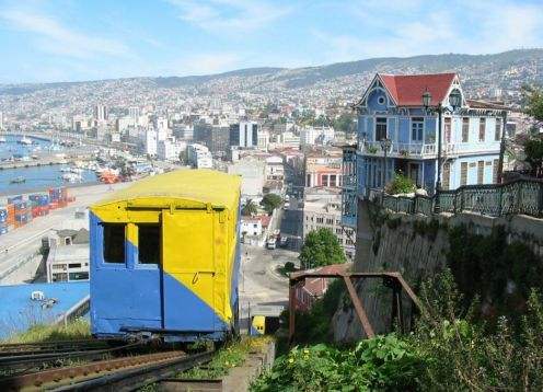 VALPARAISO AND VINA DEL MAR TOUR. Santiago, CHILE