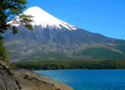 TOUR TO OSORNO VOLCANO. , CHILE