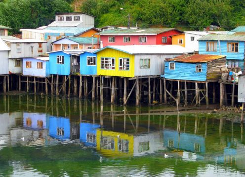 CHILO� ISLAND, VISITING ANCUD, CASTRO AND DALCAHUE