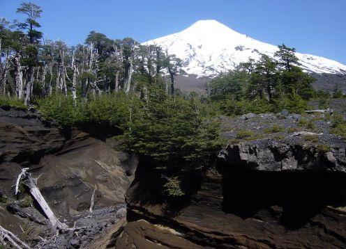 VOLCANIC CAVES - VILLARRICA NATIONAL PARK