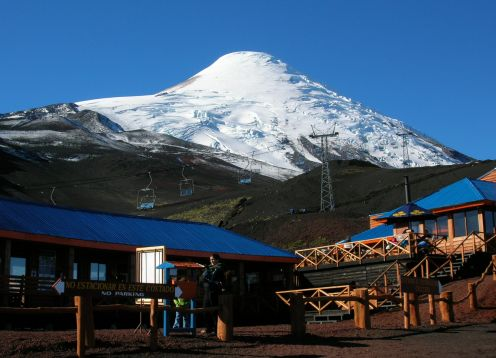 EXCURSION TO OSORNO VOLCANO
