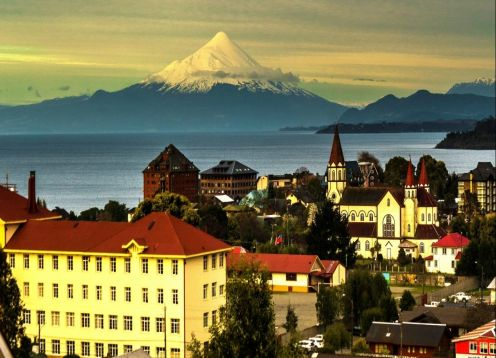 City Tour on foot + Speedboat Puerto Varas