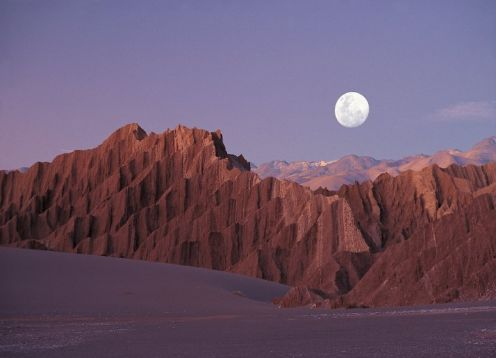 VALLEY OF THE MOON TOUR. , CHILE