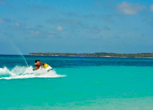 Jet Skiing In Cartagena, Colombia,