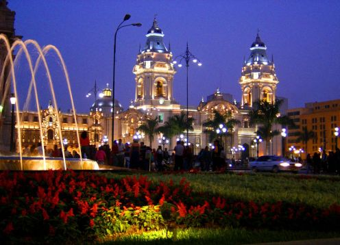 City Tour Lima At Night ,
