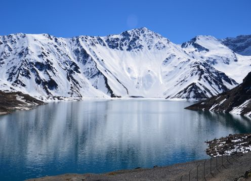 TOUR THROUGH THE ANDES, EMBALSE DEL YESO. , CHILE