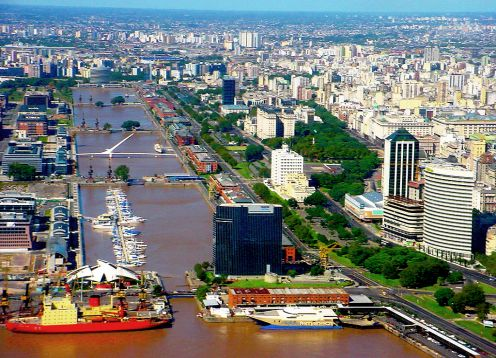 Buenos Aires City Tour And Navigation On The La Plata River,