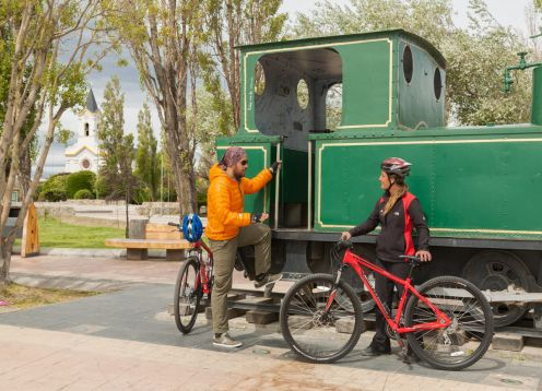 City Tour Puerto Natales by Bicycle. , CHILE