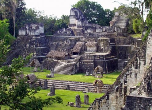 Visit To Tikal With Airplanes Included,