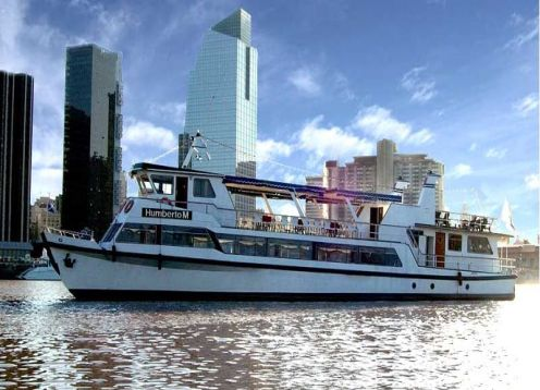 Sailing + Lunch River Plate,