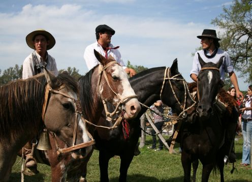 Field Day,  A Gaucho. Argentine Field,