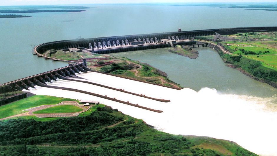 Itaipu Dam And Waterfalls - Brazilian Side - Puerto Iguazu, ARGENTINA