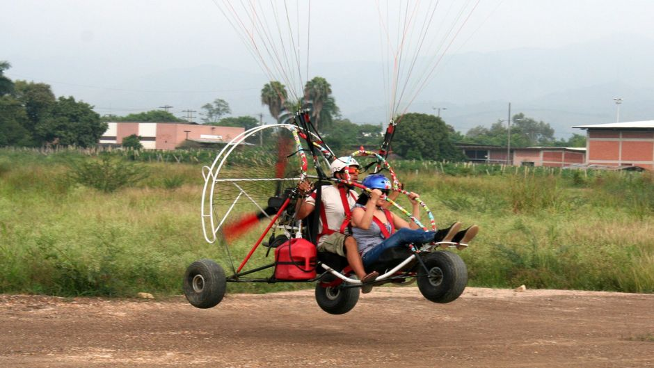 MORE PHOTOS, Paragliding Motor, in Cartagena de Indias