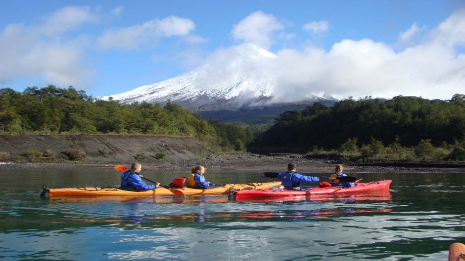 MORE PHOTOS, KAYAK IN PATAGONIA FJORD