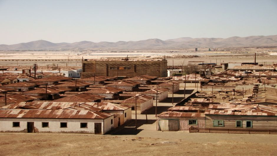 HUMBERSTONE AND SANTA LAURA SALTPETER MINES TOUR - Iquique, Chile