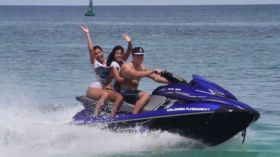 Jet Skiing in Cartagena, Colombia - Cartagena de Indias, COLOMBIA