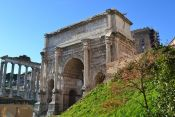 Ancient Rome, Colosseum, Forum and Palatine., Rome, ITALY